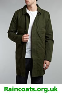 Mens designer mac by Pretty Green